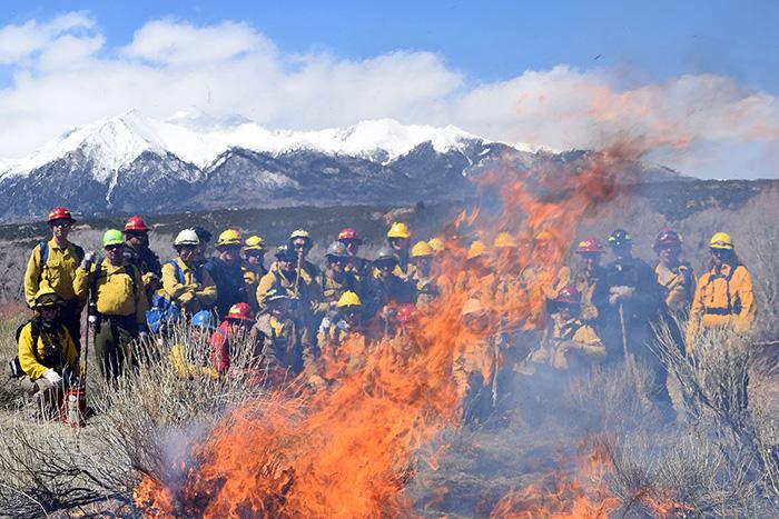 wildland firefighter training