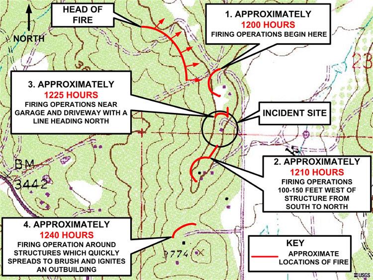 Colorado Firecamp - Cedar Fire, NIOSH Report, Image Gallery on